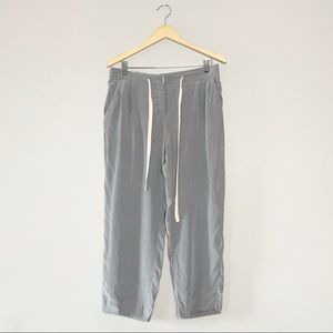 Wilfred 100 percent silk Capri pants